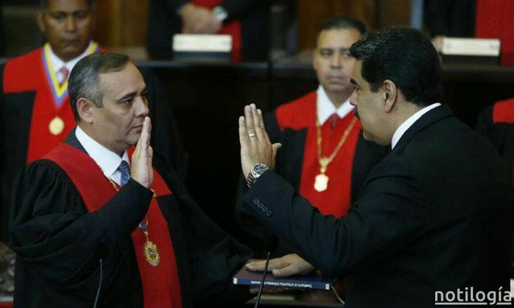 Nicolás Maduro juramentado por el TSJ