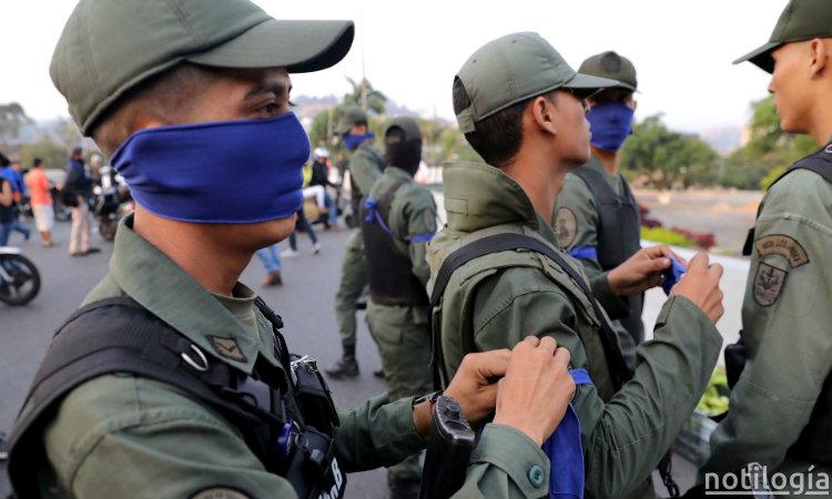 Militares apoyan libertad de venezuela