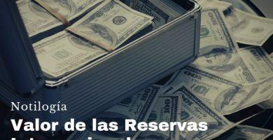 Valor de las Reservas Internacionales