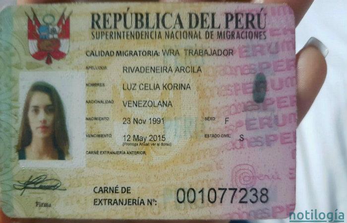 Carnet de Extranjería