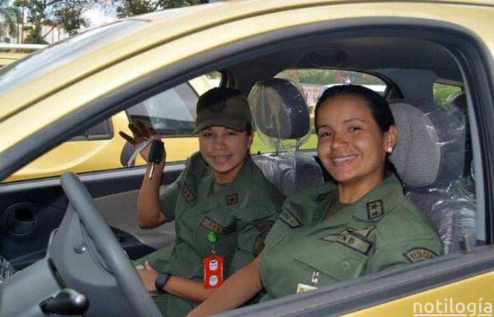 Carros adjudicados a militares