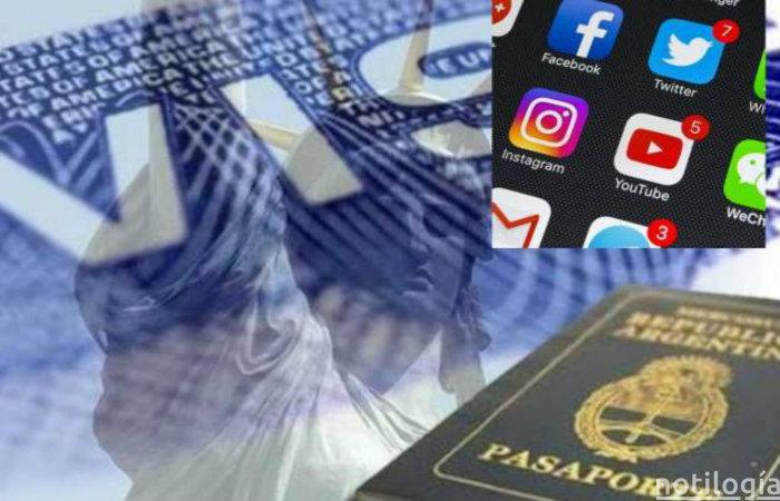 Redes sociales para la visa