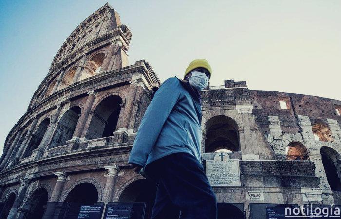 Italia registra 475 muertos por COVID-19 en 24 horas