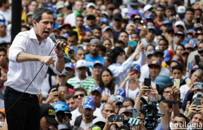 """Guaidó: """"Hay un plan, tenemos el apoyo del mundo"""""""