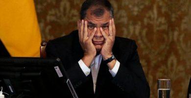 Rafael Correa condenado a ocho años de prisión