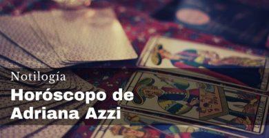 Horóscopo de Adriana Azzi