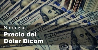 Precio del Dólar Dicom