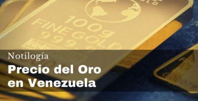 Precio del Oro en Venezuela