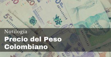 Precio del Peso Colombiano en Venezuela